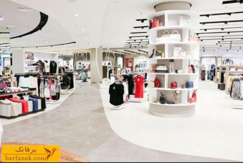 دکوراسیون داخلی فروشگاه پوشاک