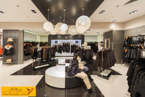 دکوراسیون فروشگاه لباس