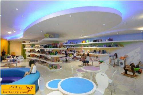 دکوراسیون داخلی مغازه اسباب بازی فروشی
