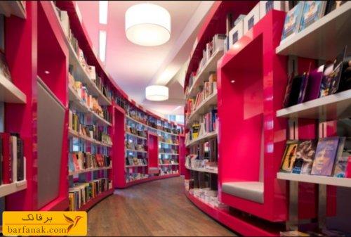 دکوراسیون فروشگاه کتاب