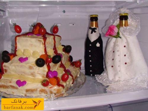 مدل یخچال عروس