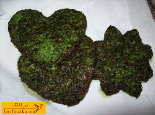 سبزی کوکو شامل چه سبزی هایی است