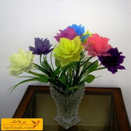 گلهای کریستال