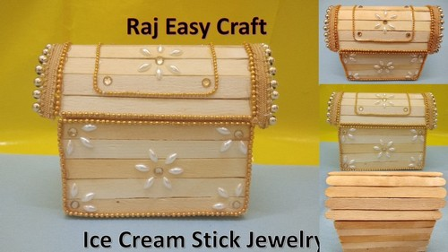 ساخت جعبه جواهرات با چوب بستنی