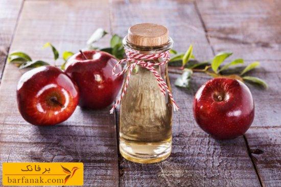 مصرف سرکه سیب برای لاغری