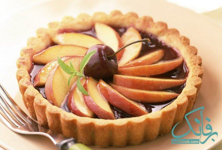 طرز تهیه تارت سیب و دارچین