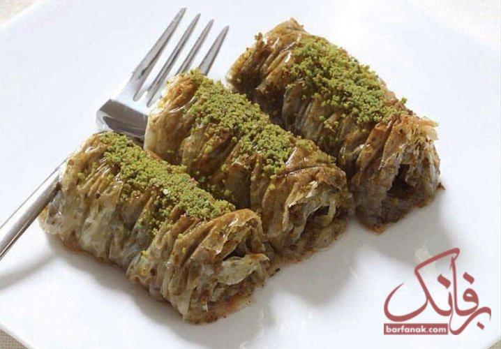 طرز تهیه باقلوا یزدی