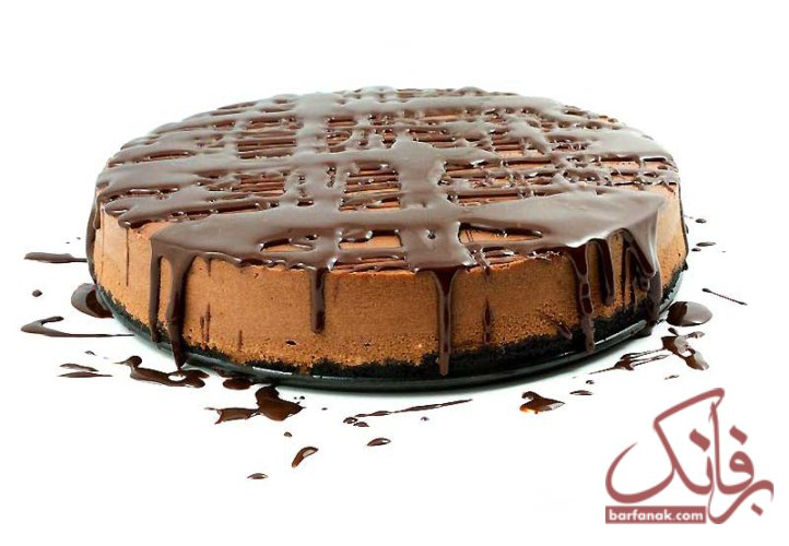طرز تهیه چیز کیک شکلاتی