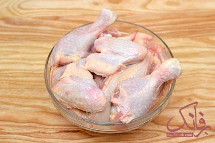 پاک کردن مرغ