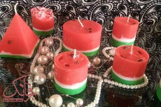 آموزش شمع چند رنگ
