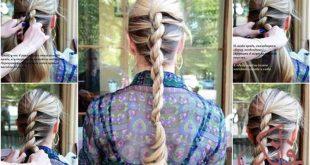 آموزش بستن مو ساده