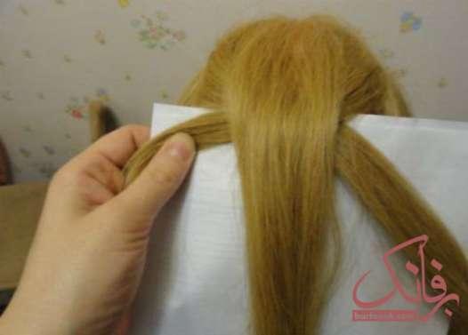 آموزش بستن مو ساده در خانه