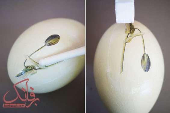 آموزش تزیین تخم مرغ سفره هفت سین
