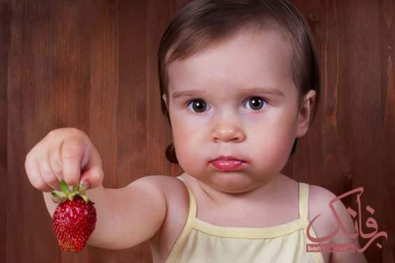 آلرژی توت فرنگی