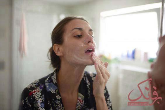 خشکی پوست اطراف دهان